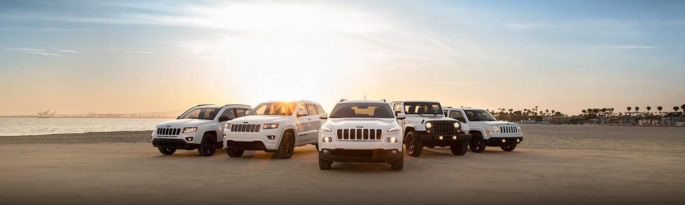 Jeep modellen