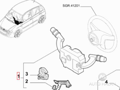 Kolomschakelaar Fiat Idea Archieven