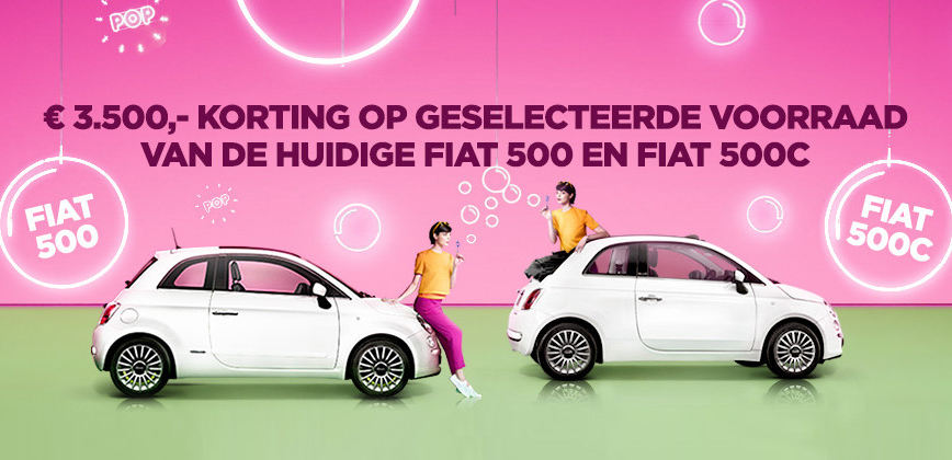 fiat 500 met euro korting mobility group haaker. Black Bedroom Furniture Sets. Home Design Ideas