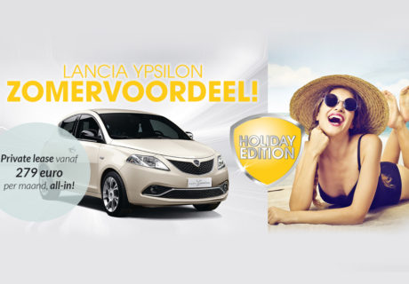 Lancia Ypsilon Holiday Edition met 1.400 euro voordeel