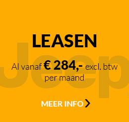 Jeep Renegade Van leasen al vanaf € 284,- excl. btw per maand