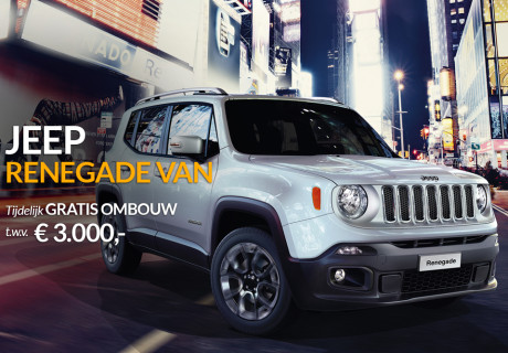 De Jeep Renegade Van