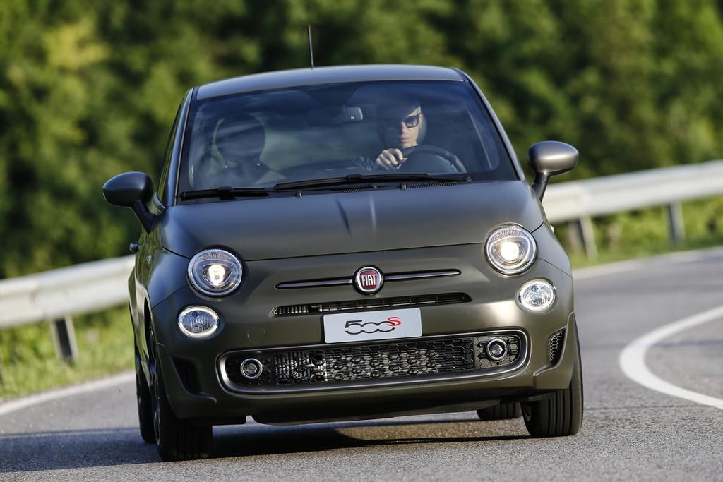de nieuwe Fiat 500S