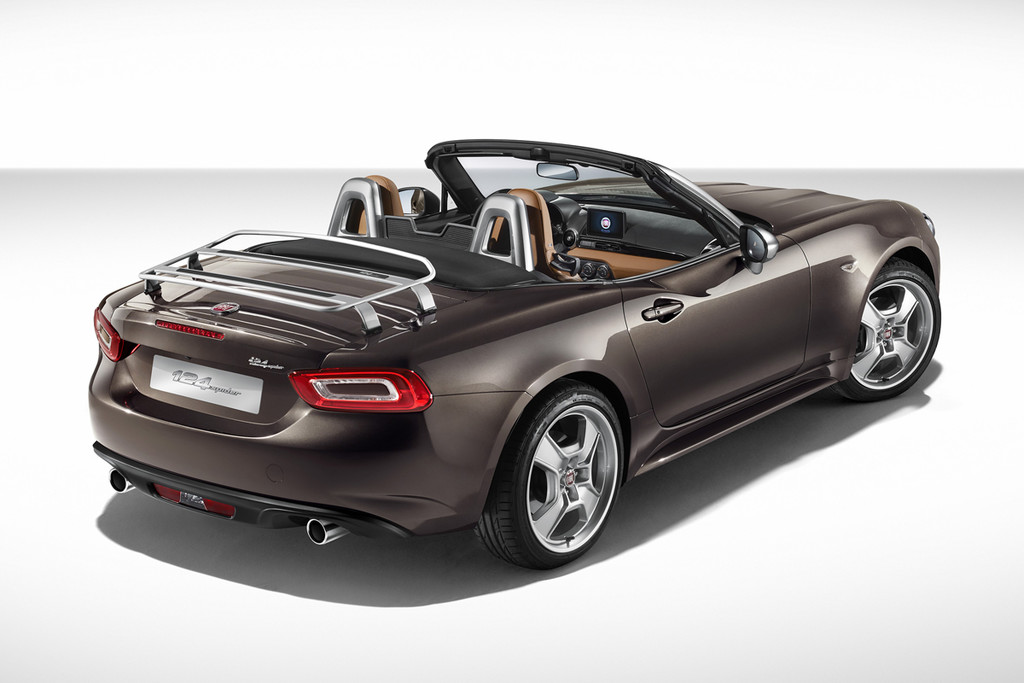 limited edion fiat 124 spider america mobility group haaker mobility group haaker. Black Bedroom Furniture Sets. Home Design Ideas