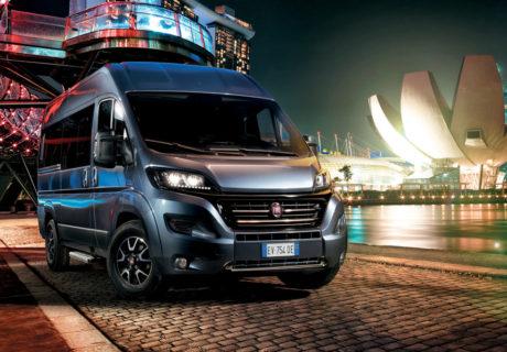 Fiat Ducato Minibus arriveert in 2017