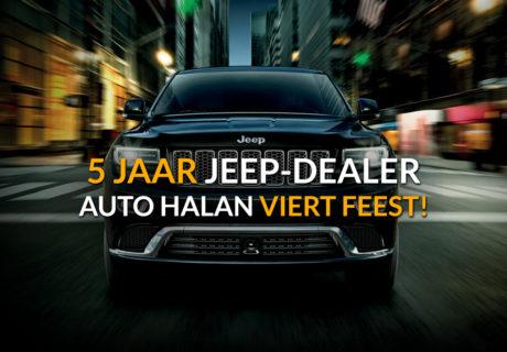 5x5 Jeep-actie