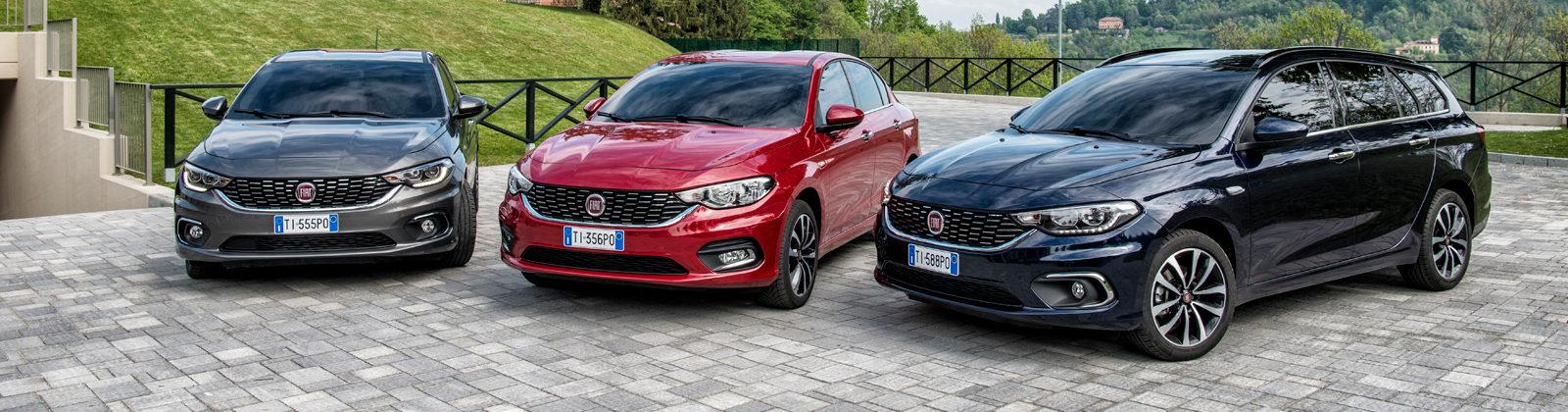 De nieuwe Fiat Tipo-familie is compleet