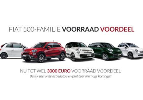 Fiat 500-familie voorraad voordeel