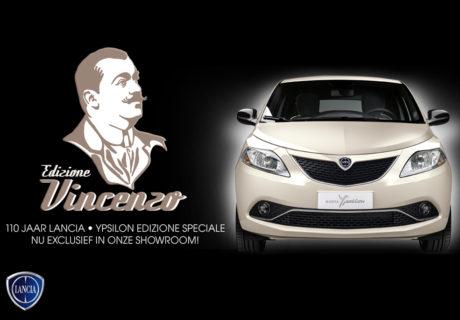Alleen bij Mobility Group Haaker: Lancia Ypsilon Edizione Vincenzo