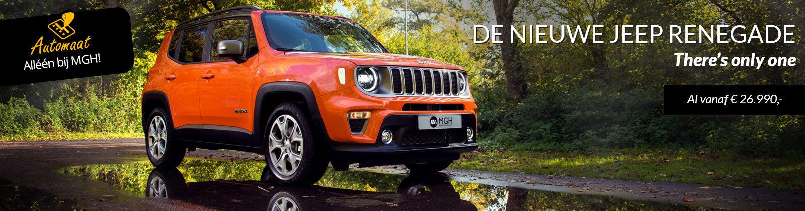 De nieuwe Jeep Renegade 2019