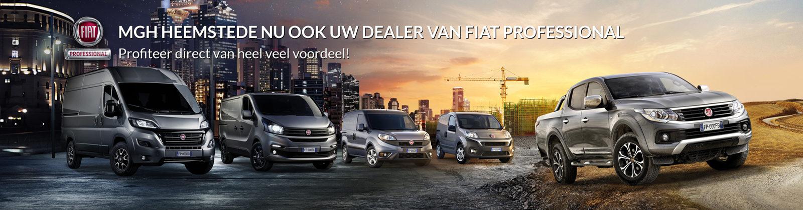 Tot 9.000 euro voorraadvoordeel op Fiat bedrijfswagens