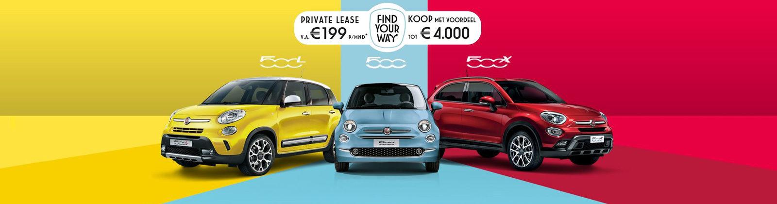 Fiat 500 Smile & Drive