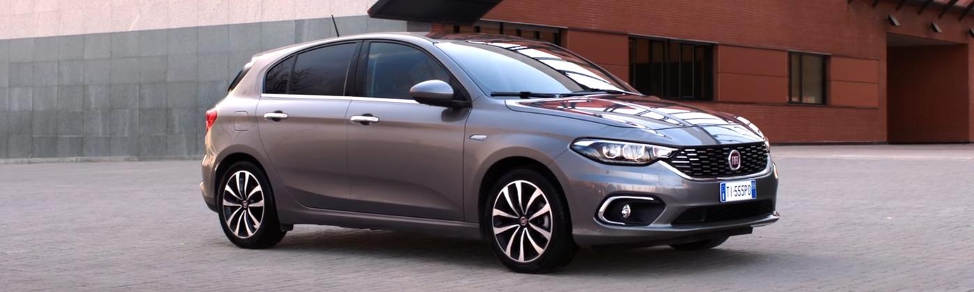 De nieuwe Fiat Tipo staat nu in de showroom!