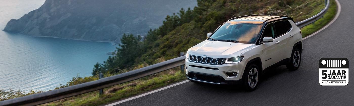 Jeep Compass voorraadvoordeel