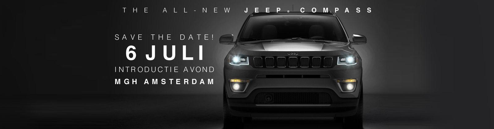 De NEW Jeep Compass VIP-night