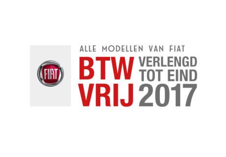 Nieuwe Fiat met 21% BTW-korting!