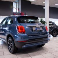 De Fiat 500X is een stoere cross-over.