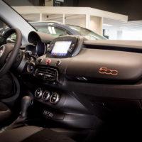 Het interieur van de Fiat 500X.
