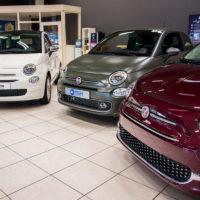 Ook de sportieve Fiat 500S doet mee.