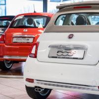 Fiat 500C en Fiat 500