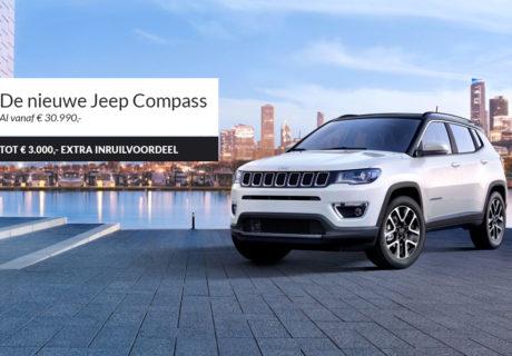 De nieuwe Jeep Compass is er al vanaf € 30.990,-