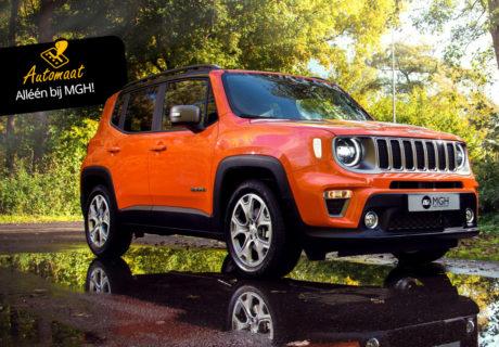 De nieuwe Jeep Renegade, aantrekkelijker dan ooit!