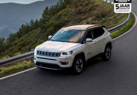 Tot wel € 7.500 korting op een nieuwe Jeep Compass