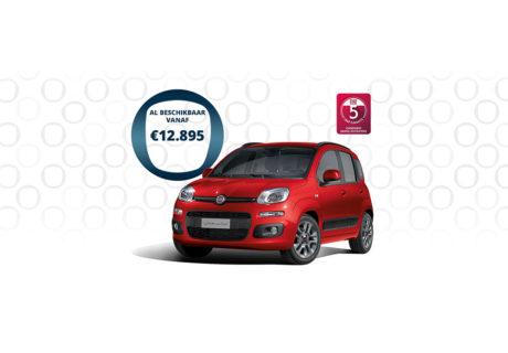 Nu tijdelijk de Fiat Panda vanaf € 12.895