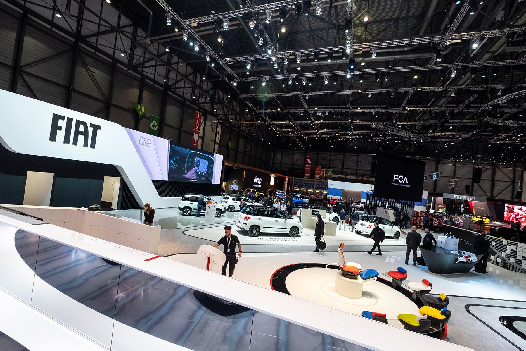 Fiat Autosalon van Genève