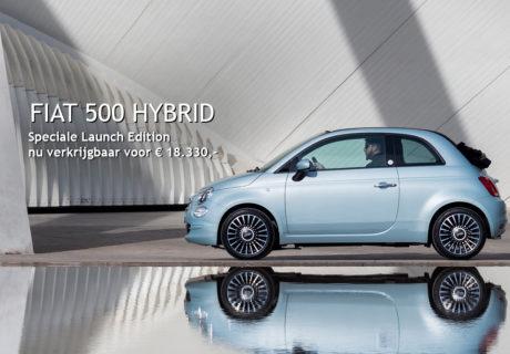 Kom proefrijden in de nieuwe Fiat 500 Hybrid