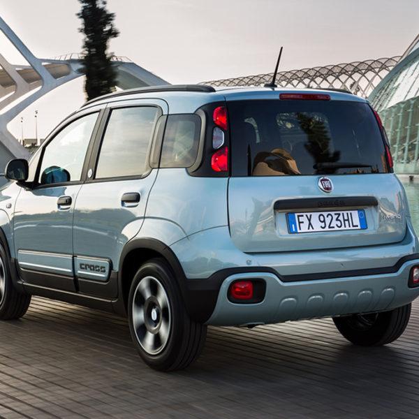 Fiat Panda Hybrid komt eerst als City Cross