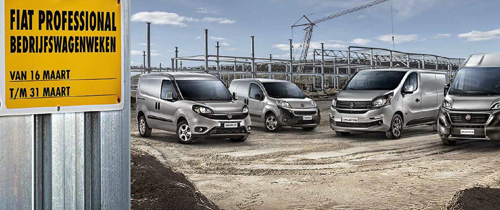 Fiat Bedrijfswagenweken 2020