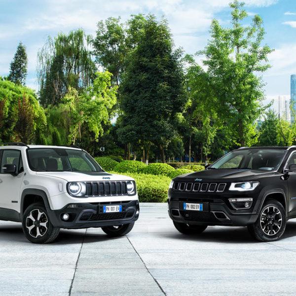 Prijzen Jeep Renegade en Compass 4xe