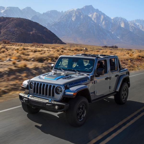 Jeep Wrangler 4xe: de specificaties