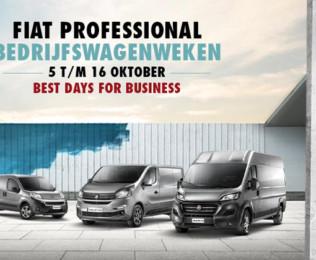 Fiat Professional Bedrijfswagenweken