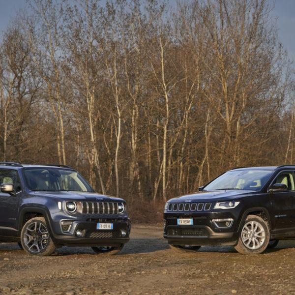 Jeep Renegade en Compass: tot 4.000 euro voorraadvoordeel